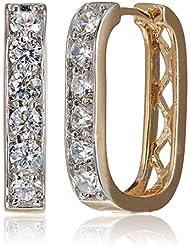 SIA Art Jewellery Clip-On Earrings For Women (Gold) (AZ3262)