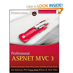 couverture du livre Professional ASP.NET MVC 3