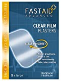 Fastaid Advanced Plasters Clear Film 5