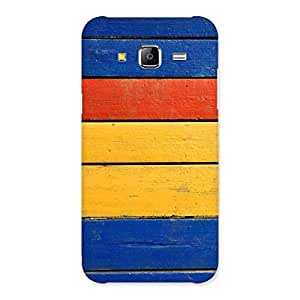 Wooden Decks Back Case Cover for Samsung Galaxy J5