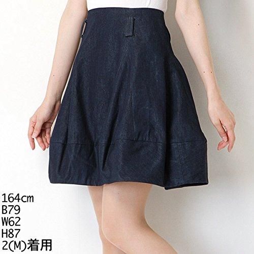 ムルーア(MURUA) スカート(コクーンART SK)【M50ブルー/S】