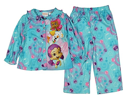 c16f514c1 Bubble Guppies Molly Oona Baby Toddler Flannel Pajamas - Import It All