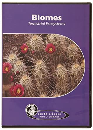 American Educational Biomes Terrestrial Ecosystems DVD