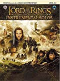 Lord Of The Rings: Instrumental Solos: Violin/Piano Accompaniment (Book/CD). Partitions, CD pour Violon, Accompagnement Piano