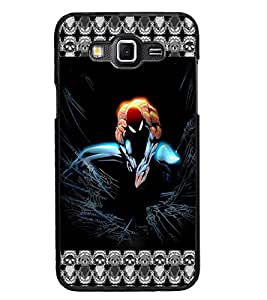 PrintDhaba Spider Man D-5695 Back Case Cover for SAMSUNG GALAXY GRAND MAX (Multi-Coloured)