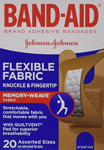 band-aid-flexible-fabric-adhesive-bandages-knuckle-and-fingertip-20-count-by-band-aid