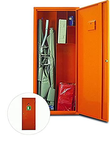 Medical Cabinet K Orange with Capacity DIN 13157