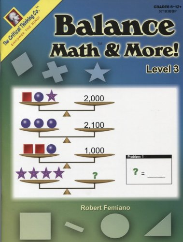 Balance MathTM & More! Level 3 - 1