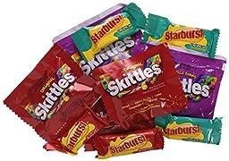 Skittles/Starburst 215 Fun Size Pieces Bag