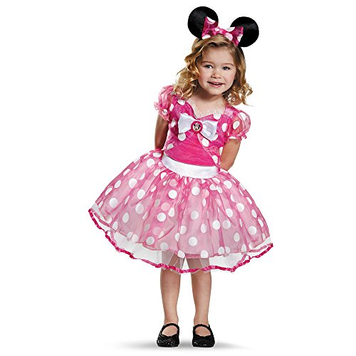 Kids Deluxe Pink Minnie Mouse Tutu Costume - S (4-6)
