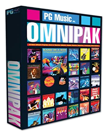 PG Music Band-in-a-Box 2012 OMNIPAK (Win HD)