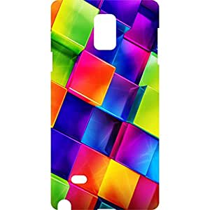 a AND b Designer Printed Mobile Back Cover / Back Case For Samsung Galaxy Note 4 (SG_N4_3D_2705)