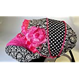 Infant Carseat Canopy Cover 3 Pc Whole Caboodle Baby Car Seat Cover Kit C080200