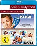Best of Hollywood - 2 Movie Collector's Pack 15 (Klick / 50 Erste Dates) [Blu-ray]