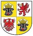 Autoaufkleber Sticker Mecklenburg Vorpommern Schild Kontur Fahne Aufkleber