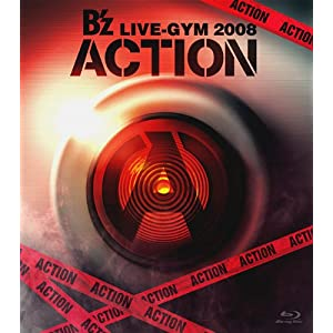 B\'z LIVE-GYM 2008 -ACTION- [Blu-ray]