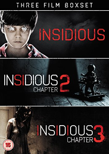 Insidious: 1-3 [DVD] [Edizione: Regno Unito]