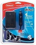 Hähnel Powerstation Ultima II Canon, 1-Stunden-Lader f. Canon Digitalkamera / SLR-Akkus, inkl. 12V, weltweit einsetzbar 100V ¿ 240V