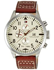 Tommy Hilfiger Analog Off-White Dial Men's Watch - NTH1790684J