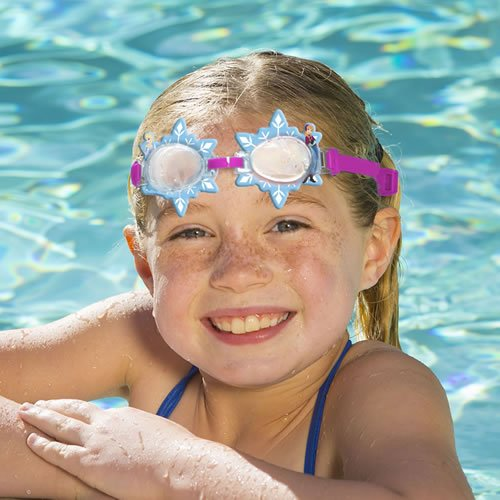 Disney(TM) Frozen Themed Swim Goggles - 1