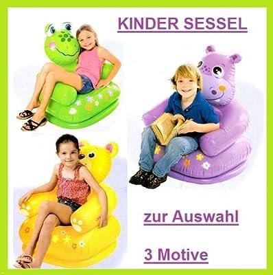 Intex Kindersessel Sessel Aufblasbar Frosch Nilpferd Oder Br