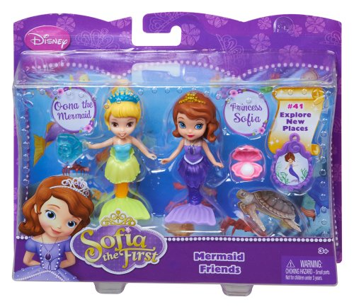 Mattel Sofia The First Disney Sofia And Oona The Mermaid Doll