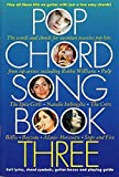 Pop Chord Songbook Three Sheet Music for Lyrics Chordswith Chord Symbols