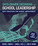img - for Data Driven Decisions and School Leadership book / textbook / text book