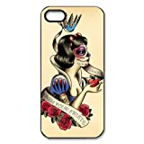 Zombie Snow White hard case cover skin for iphone 5, Snow White eat apple hard case cover skin for ipohone 5