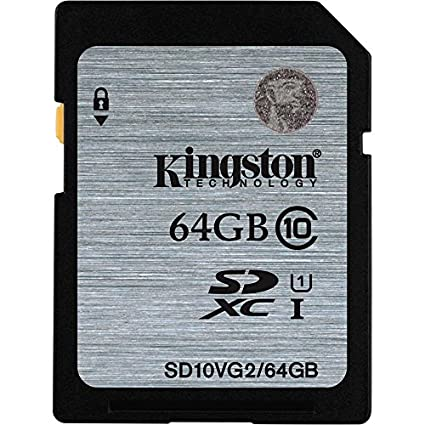 Kingston SD10VG2/64GBFR 64GB SDXC Class10 Memory Card