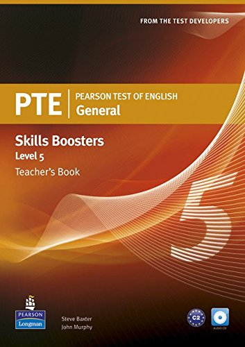 Pearson Test of English General Skills Booster 5 Teacher's Book and CDPack (Pearson Tests of English)