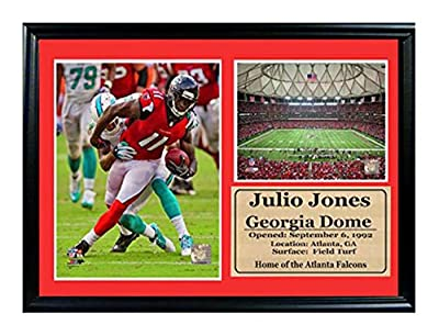 Encore Select 126-47 NFL Cincinnati Bengals Framed 2013 Photo and Paul Brown Stadium Print with Nameplate, 12-Inch by 18-Inch