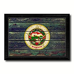 Minnesota State Vintage Flag Collection Western Interior Design Souvenir Gift Ideas Wall Art Home Decor Office Decoration - 23\