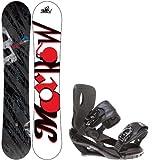 Morrow Fury 155 Mens Snowboard + Sapient Wisdom Black Bindings - Fits Boot Sizes:... by Morrow