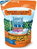 Natural Balance Sweet Potato and Fish Formula Dog Treats, 8-Ounce Bag
