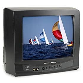 Remanufactured Durabrand CR130DR8 13-Inch Color Tube TV with Digital Tuner