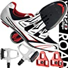Venzo Road Bike For Shimano SPD SL Look Cycling Bicycle Shoes & Pedals 43