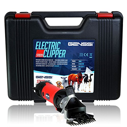 GENSSI Sheep Shears Goat Clippers Animal Shave Grooming Farm Pet Supplies Livestock (Electric Sheep Shears compare prices)