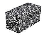 Health Smart Foldable Zebra pattern Bed Wedge 24-inches/ 60cm x 24-inches/ 60cm x 12-inches/ 20cm from Briggs Healthcare