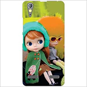 Lenovo A6000 Back Cover - Silicon Dovey Designer Cases