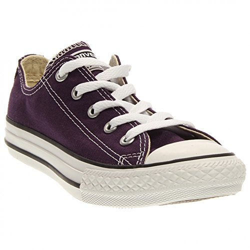 CONVERSE CT All Star OX Fashion Sneaker Shoe - Eggplant Peel - Kids - 13