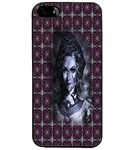 PrintDhaba Vamp D-3009 Back Case Cover for APPLE IPHONE 4 (Multi-Coloured)