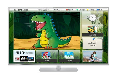 Panasonic Viera TX-L55ET60B 55-inch Widescreen Full HD 1080P 3D LED, Smart Viera, Wi-Fi Built in with Freeview HD