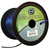 Scosche ES3BL-200 3mm Speaker Wire (200 Feet Blue)