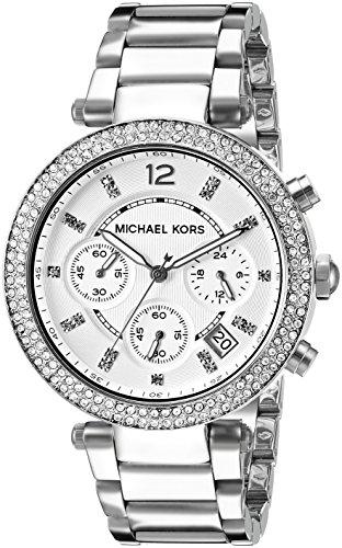 Michael Kors Women's Parker Silver-Tone Watch