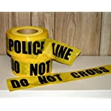 Storm Stripes Barricade Tapes, POLICE LINE DO NOT CROSS - Individual Roll