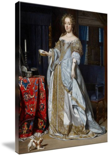 Portrait Of A Lady, 1667 (Oil On Panel (Giclee Art Print), The Fine Art Masters front-1057991