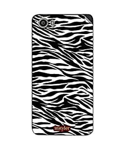 instyler SKIN STICKER FOR MICROMAX CANVAS FIRE 4 A107