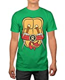 TMNT Teenage Mutant Ninja Turtles Mens Raphael Costume T-shirt XL