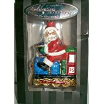 2011 Radko Santa Claus Train Christmas Ornament